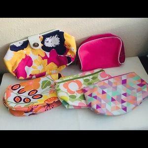 Set of 5 Clinique bags